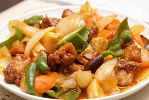 中華 お惣菜 ソース 酢豚 豚肉 野菜