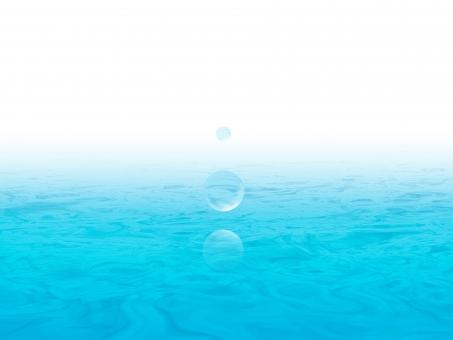 水面 水玉 2の写真