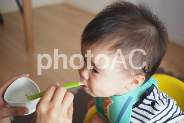 離乳食の写真