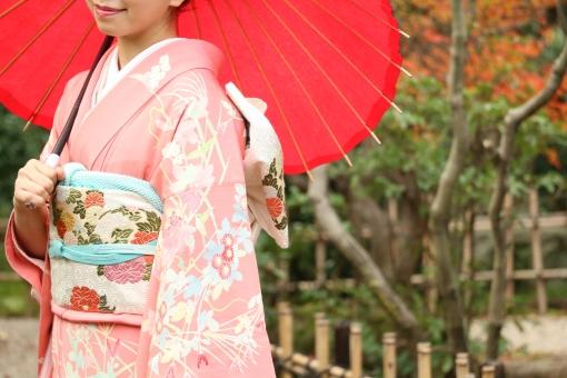 着物 成人 成人式 無料 素材 祝い 京都 大和撫子 袴 振袖