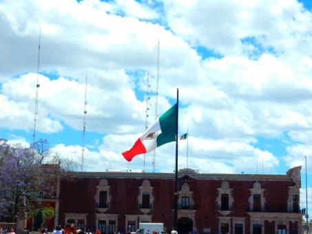 メキシコ 青空 雲 空 白 青