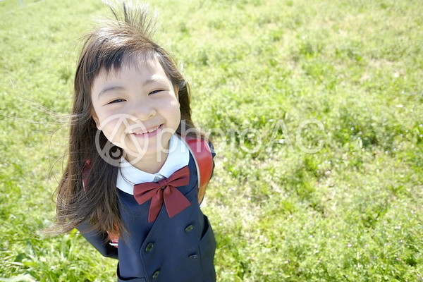 小学生の女の子9の写真
