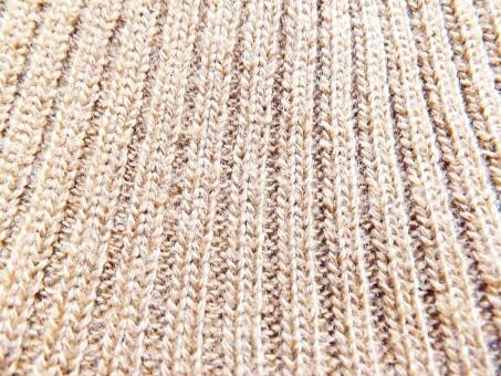 リブ編み 編み物 洋裁 裁縫 マフラー ニット ニット素材 伸び縮み テクスチャ テクスチャー 素材 編み目 編み物 ソーイング バックグラウンド マフラー ゴム編み 畦編み あぜ編み 厚地 厚手 茶色 ブラウン 縦じま 温かい あったか 上着 洋服