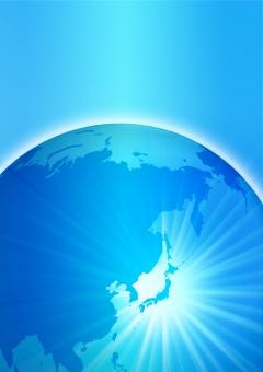 背景 背景素材 テクスチャ テクスチャー ビジネス 日本 日本経済 地図 マップ ワールド 世界 世界情勢 世界地図 青 ブルー 地球 壁紙 イメージ ビジネスイメージ 光 円