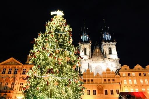 クリスマスマーケットの写真