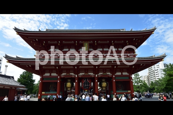 東京、浅草寺ー5の写真