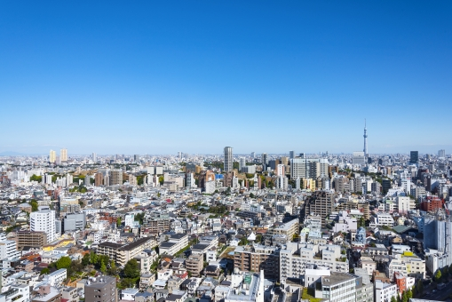 都市の風景の写真