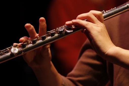 フルート 木管 楽器 クラシック 演奏 音楽 練習 吹奏楽 ブラスバンド ミュージック 演奏 演奏家 演奏会 発表会 コンサート 披露 趣味 道具 弾く 生演奏 ミュージシャン アーティスト 人物 手 指