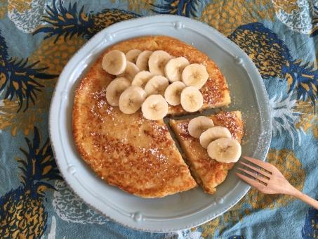 バナナパンケーキの写真