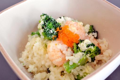 イタリアン リゾット 洋食 チーズリゾット 米 お米 ピラフ ブロッコリー とびこ トビコ えび えびピラフ エビピラフ 海老