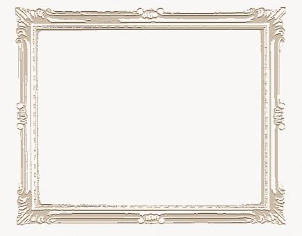 アンティーク フレーム 額 飾り 枠 バックグランド 背景素材 窓  テキストスペース コピースペース アルバム 写真 飾りフレーム 囲み枠 額縁 アート