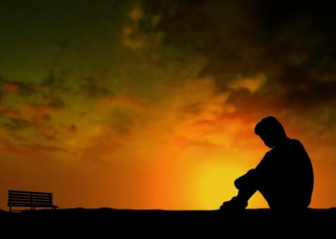 さびしい 寂しい 淋しい ひとり 一人 天涯孤独 わびしい 侘しい ぼっち ボッチ 一人ぼっち 虚無 空虚 うつろ 虚ろ 絶望 失望 悲観 悲観的 絶望的 夕暮れ 夕暮 夕焼け 夕焼 夕方 夕景 がっかり 落ち込む 落胆 文字スペース