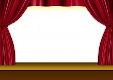 ベルベット ドレープ 赤 テクスチャー 白 白地 枠 フレーム 舞台 劇場 ポストカード メッセージ カザリケイ 飾り罫 余白 高級感 背景 背景素材 バック バックグラウンド background テンプレート チラシ パンフレット ポスター カタログ 表紙 テクスチャ 豪華 frame