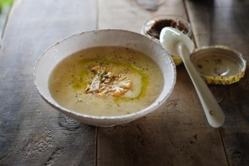 カリフラワー かりふらわー スープ ポタージュ 野菜スープ 野菜 ビーガン homemade soup ベジタリアン ヴェジタリアン ヴェジタリアン cooking vegetables cauliflower 料理 手作り
