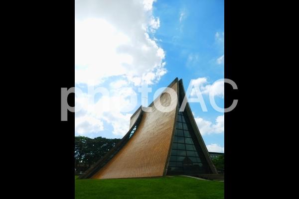 台湾の教会の写真