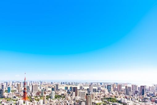 東京風景 青空の写真