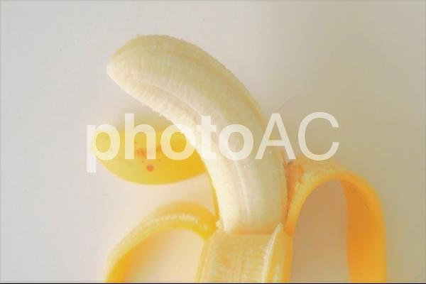 むいたバナナ#1の写真