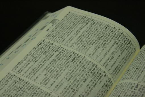 辞書 辞典 国語辞典 古語辞典 勉強 研究 受験 受験生 勉強中 調べ物 調べもの 調べる 国語 言語 日本語