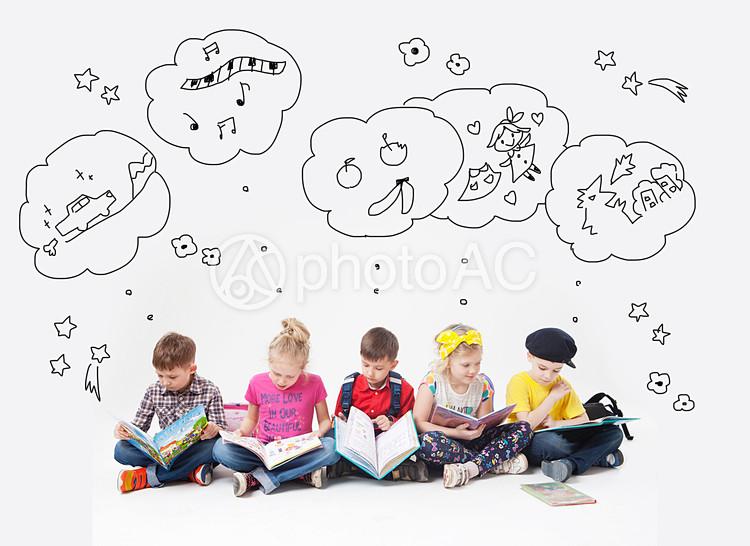 子供達の想像力 - No: 1017470 写真素材なら「写真AC」無料(フリー ...