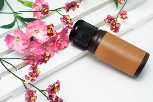 化粧品 ボトル スキンケア ボディケア コスメ 美容液 エッセンス オーガニック 花 植物 天然 手作り