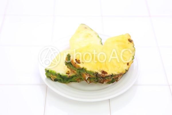 カットパイナップル1の写真