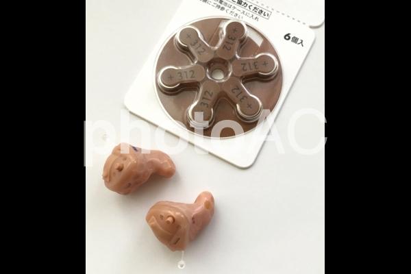 補聴器の写真