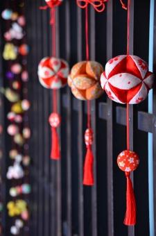 和 和風 手まり 工芸品 民芸品 伝統工芸 つるし飾り つるし雛 ひな祭り 桃の節句 春 3月