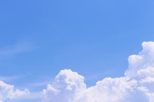空 青空 大空 青い空 雲 白い雲 綿雲 わた雲 入道雲 空と雲 風景 自然 景色 背景 上空 スカイブルー ブルー スカイ 大気 空気 そよ風 風 気流 気候 環境 爽快感 爽快 清涼 清涼感 さわやか 爽やか 澄む 澄み渡る 澄みわたる 澄んだ 清清しい 清々しい すがすがしい 春 初夏 夏 残暑 晩夏 初秋 夏空 夏の空 夏休み なつやすみ 行楽日和 飛行 飛ぶ 浮く 漂う 舞う 流れる モクモク もくもく ふわふわ フワフワ 天気 天候 快晴 晴れ 晴天 屋外 野外 壁紙 壁紙素材 web素材 ブログ素材 背景素材 シンプル素材 背景イメージ 夏イメージ 自然イメージ テキストスペース コピースペース sky