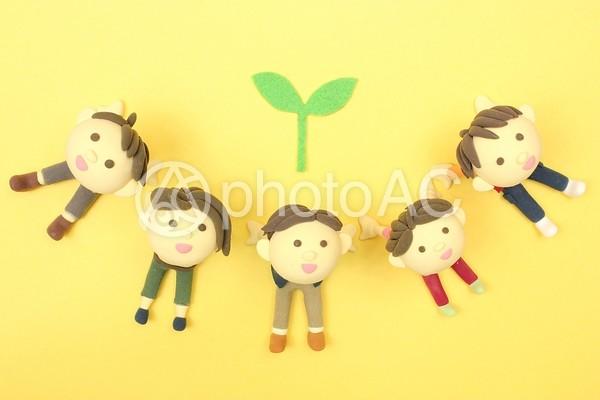 植物と仲間4の写真