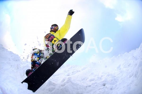 スキー場にて260の写真