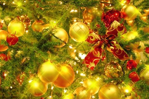 クリスマス クリスマスツリー 背景 壁紙 Christmas Xmas 冬 ツリー 季節 行事 キラキラ イルミネーション