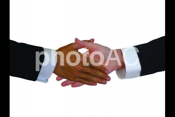 握手03の写真