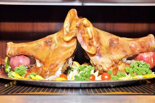 豚の丸焼きに関する写真写真素材なら写真ac無料フリー