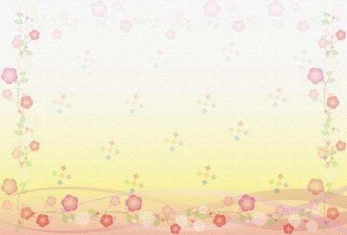 年賀状 年賀状背景 年賀状素材 素材 年賀はがき 年賀ハガキ 年賀 賀正 正月 梅 市松 曲線 グラデーション 和風 和 松竹梅 うめ 和紙 壁紙 和風 年賀状サイズ背景シリーズ 挨拶 広告 バックグラウンド テクスチャ チラシ素材 web素材 元旦 1月 和風背景