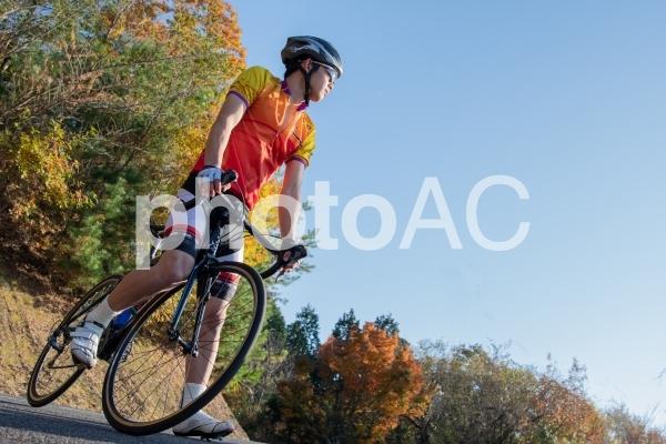 ロードバイク ロングライドイメージの写真