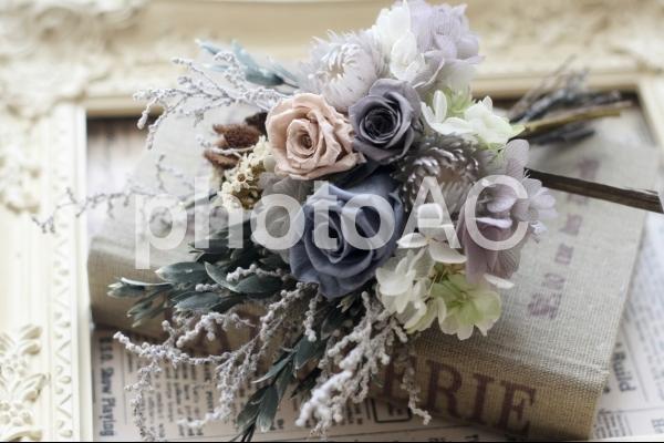 シャビーな花束の写真