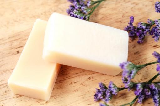美容 花 ナチュラル 紫 ハーブ 石鹸 ソープ せっけん 石けん スキンケア オーガニック 洗面