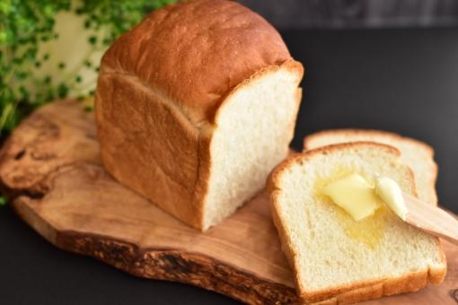 山型食パン 食パン パン ブレッド バター bread 朝食 朝ごはん