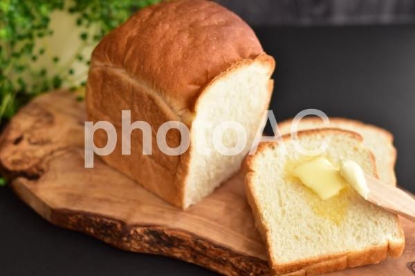 山型食パンの写真