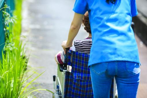 車椅子・介護の写真