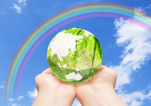 地球儀 エコ イメージ エコイメージ 手 救う 緑 葉っぱ 葉 木 森 林 透ける 透明感 クリーン 虹 レインボー クリーンエネルギー 地図 世界 日本 グローバル 自然 地球 植物 環境 ビジネス コピースペース 人物 明るい 背景 新緑 エコロジー 緑色 エネルギー 自然エネルギー 日本列島 晴れ 清潔 省エネ 透明 エコロジーイメージ ナチュラル グリーン 夏 eco 青空 空 青 雲