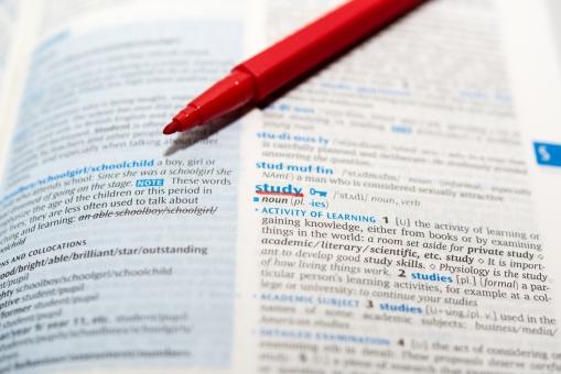 勉強 英語 アルファベット 試験 辞書 スタディ 英会話 調べる イングリッシュ 学習 ペン サインペン マーク チェック 学生 資格 国際化 イギリス アメリカ