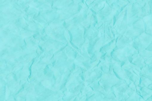 和紙 色紙 台紙 紙 テクスチャー 背景 背景画像 彩雲 雲 雲模様 皺 シワ しわ くしゃくしゃ クシャクシャ 青 青緑 ブルー シアン 浅葱 水色 ライトブルー
