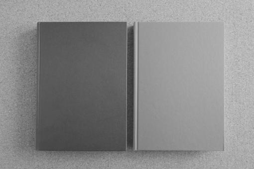 二冊の本 本 書籍 ブック 読書 表紙 タイトル ハードカバー 文献 比較 比べる 背景素材 壁紙 イメージ ビジネス ビジネス書 参考資料 参照 対比 コントラスト 対照的 選択する 二者択一 選択肢 バック 下地 台紙 コピースペース テンプレート フレーム