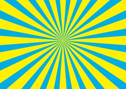 放射線 日の出 目立つ 水色 青 黄色 夏 サマー サマーセール セール バーゲン SALE 特売 安売り 背景 テクスチャー テクスチャ 海鮮 漁船 漁業 大漁 バック 素材