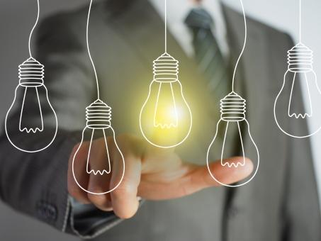 ビジネスアイデアのイメージの写真