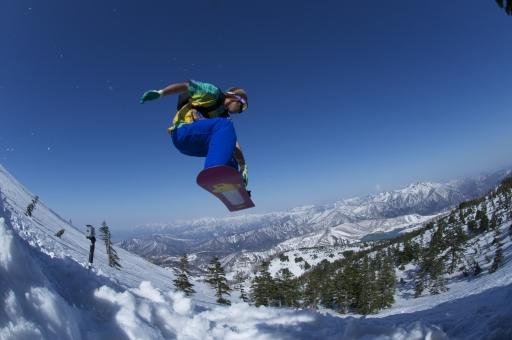 スノーボード ウィンタースポーツ 春 冬 雪遊び