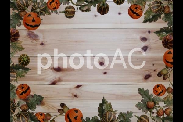 カボチャのフレーム ハロウィンの写真