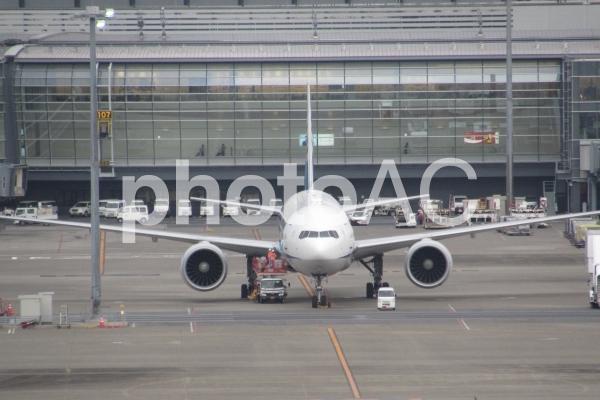 東京国際空港 旅客機の写真