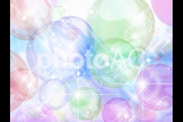 水晶光り背景02の写真